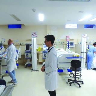 UTI do Hospital Montenegro salva 75 por cento dos pacientes