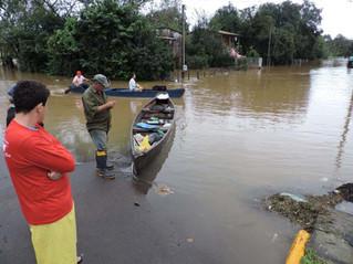 São Sebastião do Caí segue em alerta devido a mais chuvas