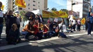Adesão à greve aumenta nas escolas estaduais de Caxias do Sul