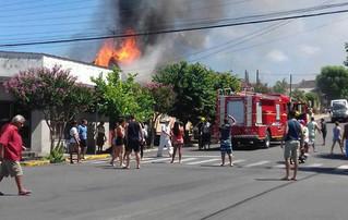 Idosa morre após incêndio em Montenegro