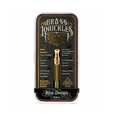 Buy Brass Knuckles Sour Diesel Cartridge