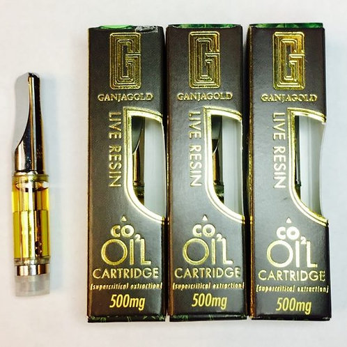 Buy Ganja Gold Live Resin Vape Cartridges