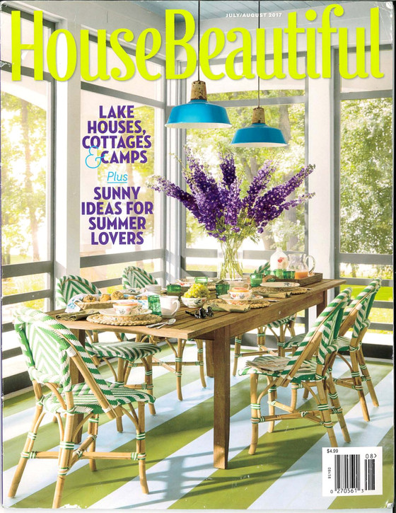 House Beautiful July/August 2017