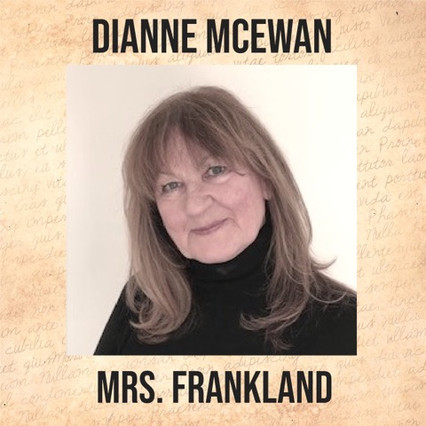 """Dianne thanks Lana for giving her the opportunity to join Theatre Bacchus and the very talented cast and crew of """"The Hound of the Baskervilles"""".  Having been actively involved in community theatre for many years, a radio drama is a first for Dianne, and as such, she views it as """"a fun highlight in her life in the craziest of times""""."""