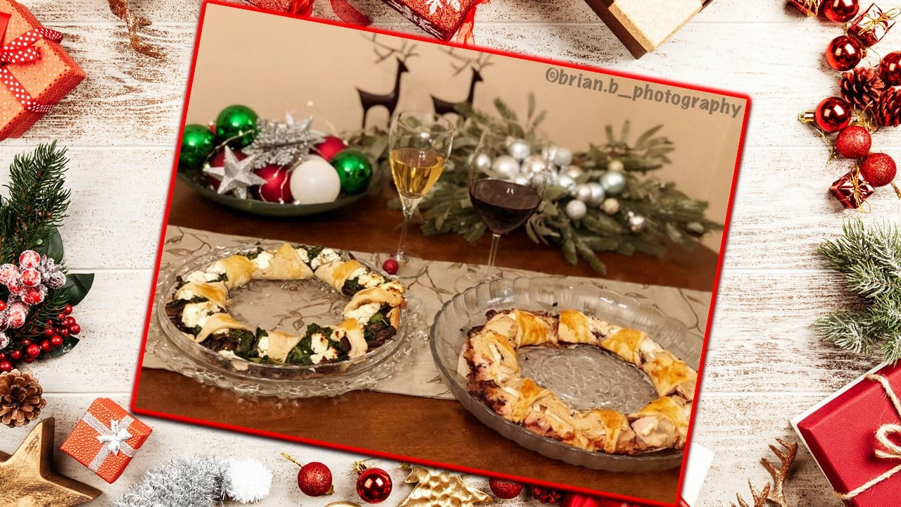 Savory Christmas Wreaths