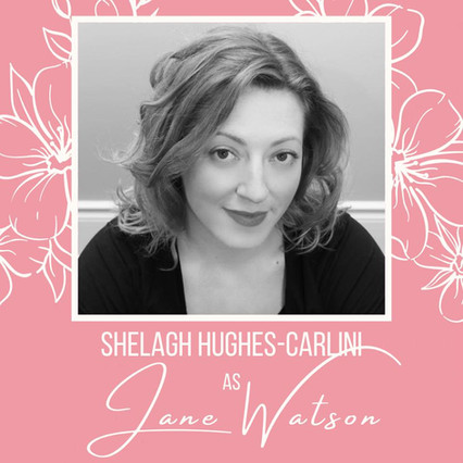 """First and foremost Shelagh is an embarrassingly huge fan of Jane Austen and playing in """"The Watsons"""" has been just one more role to cross off her bucket list. Shelagh Hughes studied at University of Toronto (UTSC) under Paula Spordakas and Michael Schomberg, and has been acting professionally since the age of 17 when she made her debut at The Shaw Festival as Evelyn Munn in """"The Childrens Hour"""". She continued theatre study and collaborated on projects that took her to Studio Epsilon in Prague and finally moving for the greatest summer of her life to Manitoulin Island, where she co-wrote and acted in """"The Indian Affairs"""" for Debajehmujig Theatre Company. After taking a short hiatus for a few years to have three sons —her greatest productions! —Shelagh returned to the stage.  Some of her favourite credits are Beatrice in """"Much Ado About Nothing"""" and """"Lizzie Borden"""" in Blood Relations for Theatre Aurora, and Mollie Rollston in """"The Mousetrap"""" for Markham Little Theatre.  Shelagh also never refuses to be apart of a Diva in The Rough production. She is thrilled and elated and completely nerding out about being in the Theatre Bacchus production of """"The Watsons"""" and is very happy to be part of a tremendous cast."""