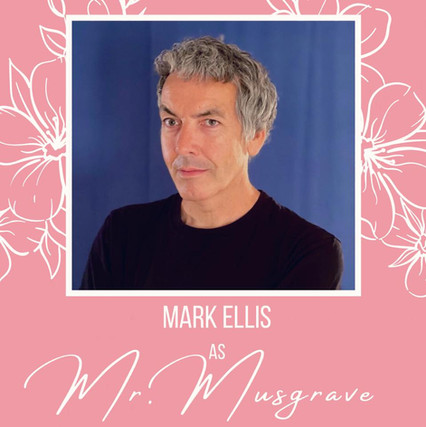 This is Mark's third appearance with Theatre Bacchus, after humbugging his way through Scrooge in The Christmas Carol and deducing as Sherlock in Hound of the Baskervilles.  Favourite stage credits include Two Pianos Four Hands, The Importance of Being Earnest, The Mystery of Irma Vep, Gross Indecency: The Three Trials of Oscar Wilde, The Offering and Macbeth.  Mark directed Crimes of The Heart and Dark Victory for The Oakville Players and most recently played Alfred Doolittle in Pygmalion and Levene in Glengarry Glen Ross. He also writes and produces TV.