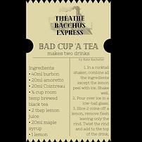 Bacchus Bite - Bad Cup 'a Tea