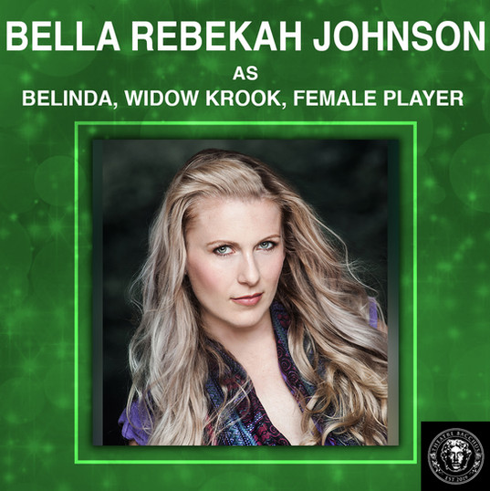 Bella Rebekah grew up on community theatre stages. The playing became an interest then it grew quickly into a passion. Born in New Brunswick she's a Maritimer in the big city exploring different roles and dynamics.  Her favourite roles are warriors and heroes, even the occasional villain, while period pieces are her favourite genre. She continues to expand her craft into film, television and voiceover acting in Toronto and across Canada. Mint dark chocolate is her favourite ice cream.