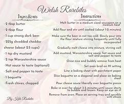 Bacchus Bite - Welsh Rarebite recipe
