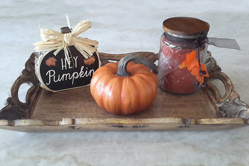 Pumpkin Seasonal Tray