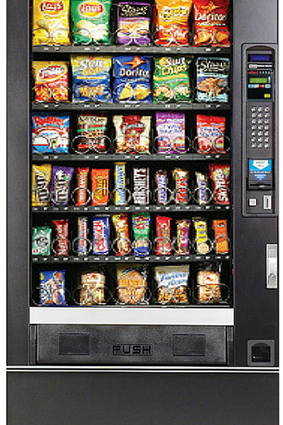 National Model 167 Snack Machine