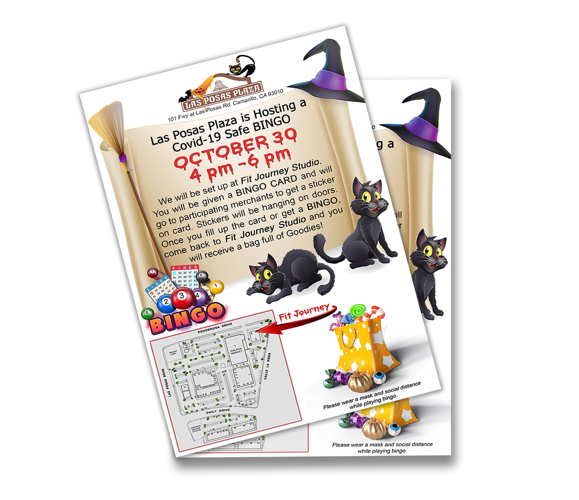 Halloween Bingo Flyer 2020