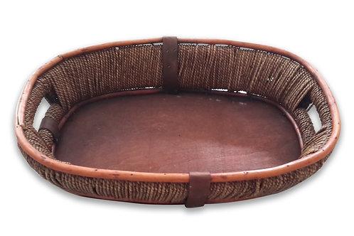 Oval Deep Basket Tray