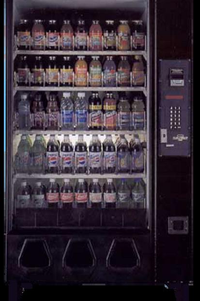 Dixie Narco Model 2145 Soda Machine