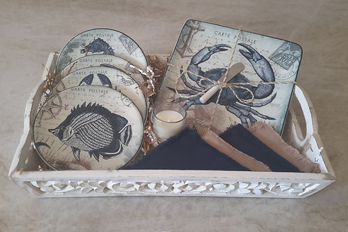 Coastal Theme Tray