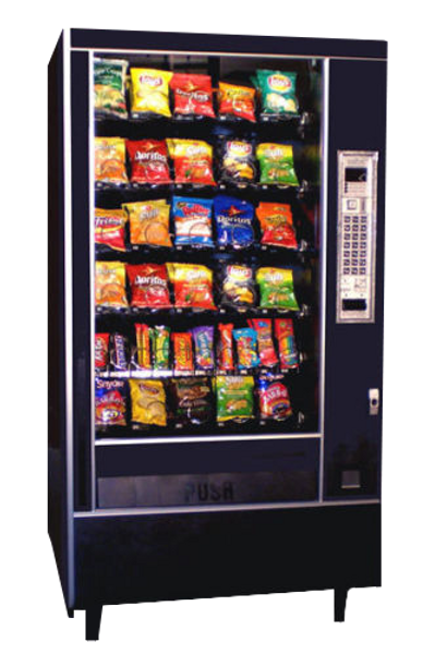 Automatic Products Model 7600 Snack Machine