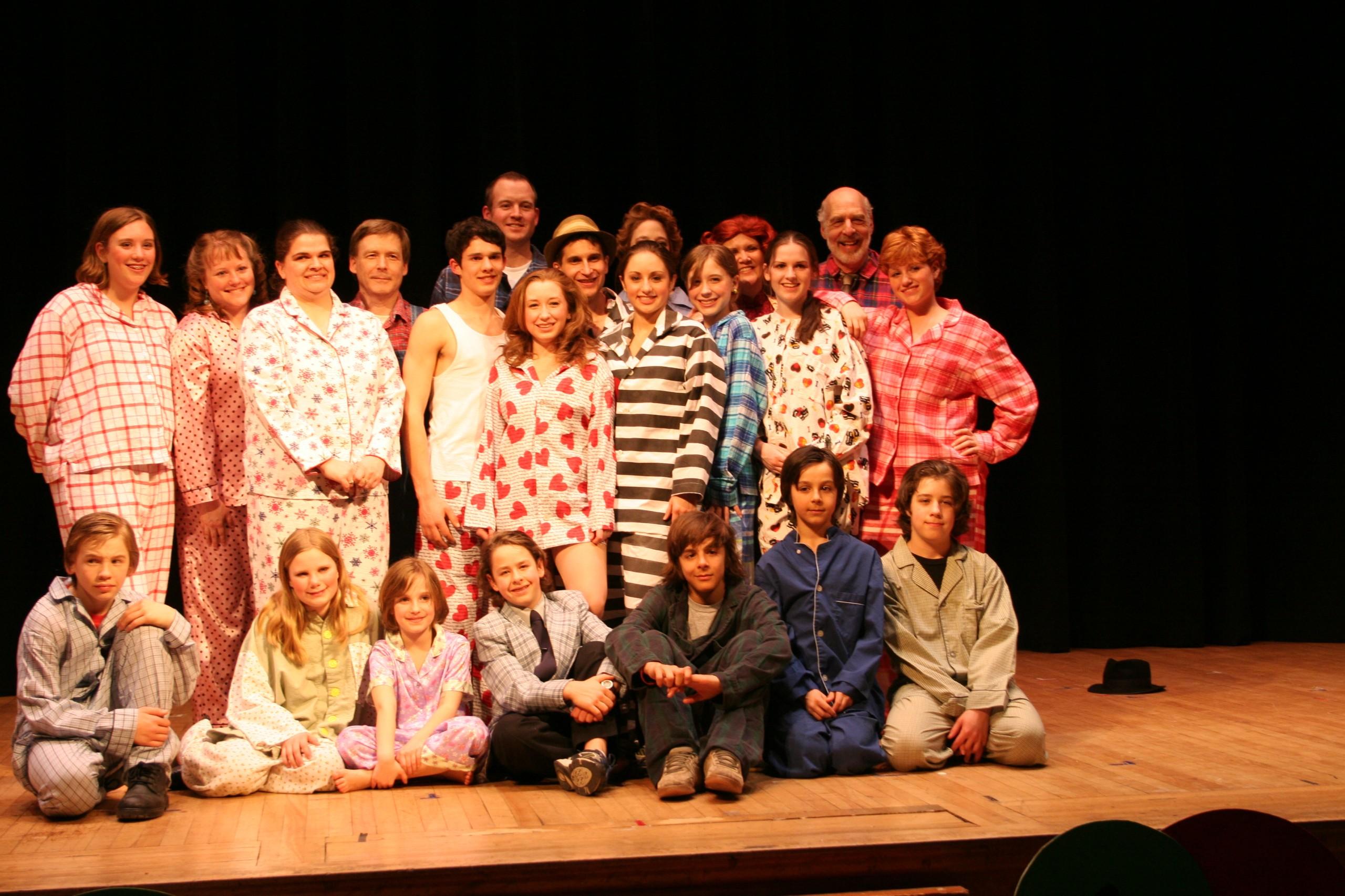Pajama Game 2 048
