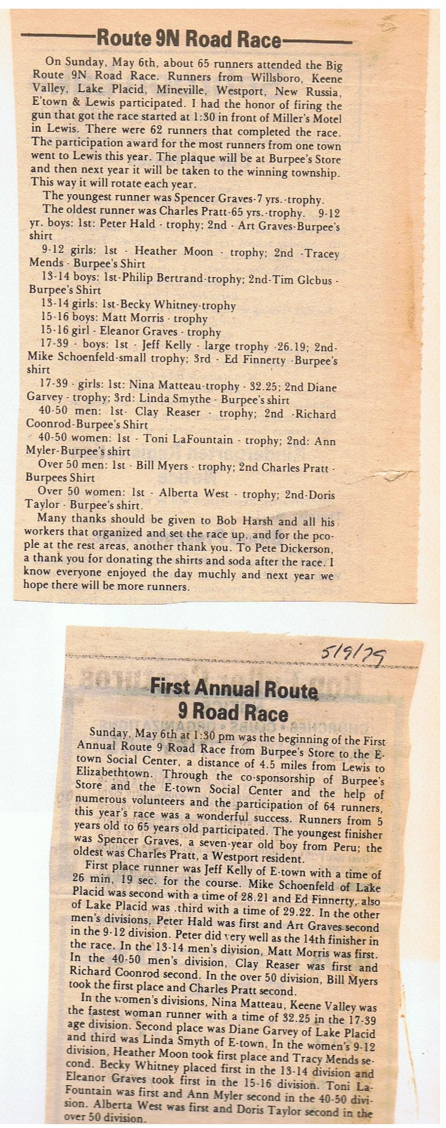 79 race newspaper articles