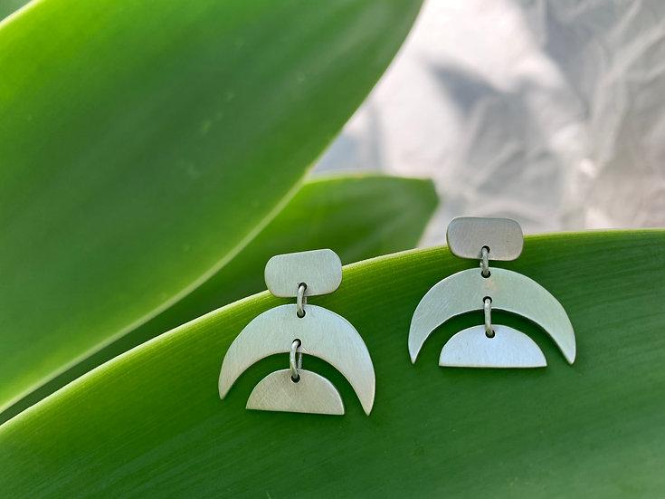 Handmade sterling silver earings