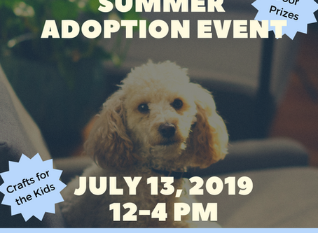 Ruffugees' Adoption Event at Slover Library