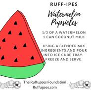 Watermelon Pupsicles