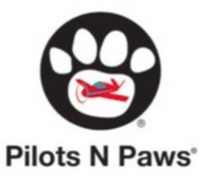 Pilots N Paws Logo