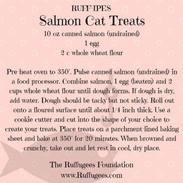Salmon Cat Treats