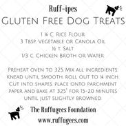 Gluten Free Dog Treats