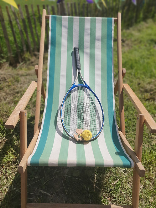 Bijtring tennisbal