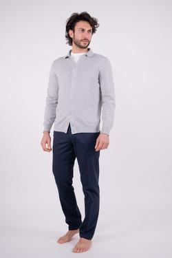 Cardigan Camicia Sasso
