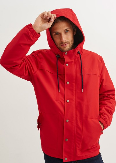 Men's Waterproof Hooded Parka