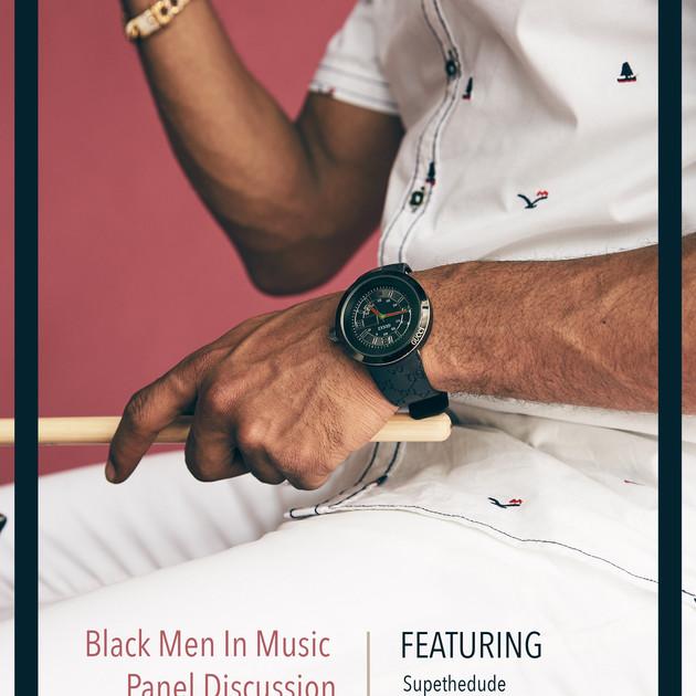 Luxy Haus: Black Men In Music Panel Discussion