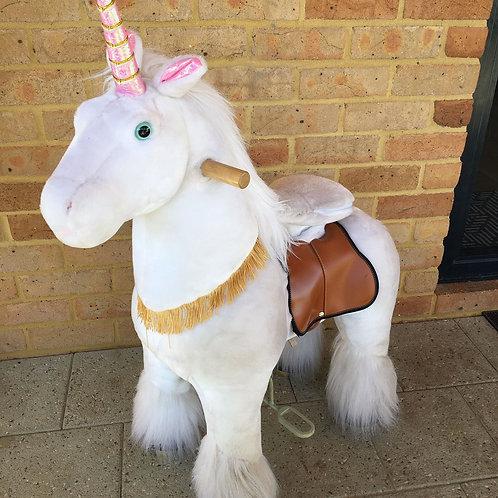 Ex-Demo - Toy Unicorn - Large (age 4-9yrs)
