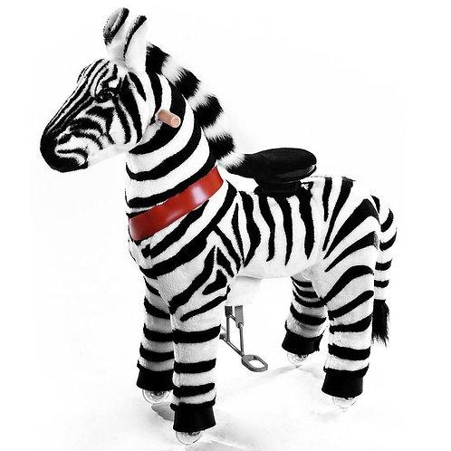 PonyCycle Toy Zebra - Large (age 4-9yrs)