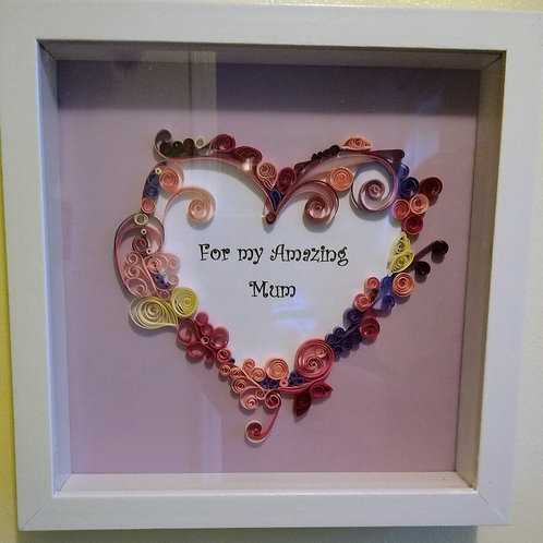 Paper Quilled Heart