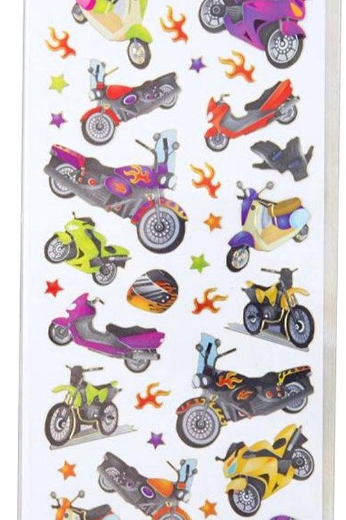 Craft Planet Fun Stickers - Motor Bikes