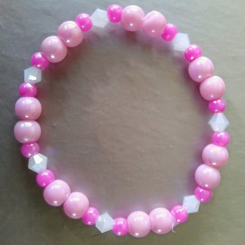 Children's Pink Bracelet