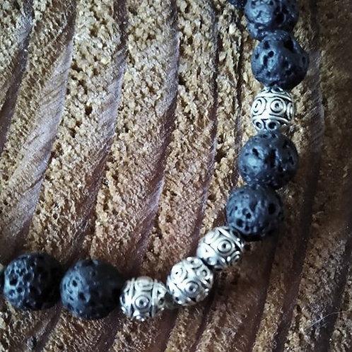 Lava - Man's Bracelet