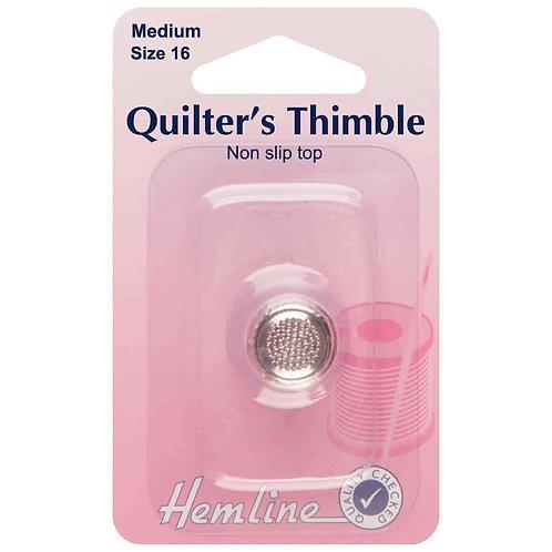 Hemline Quilter's Thimble