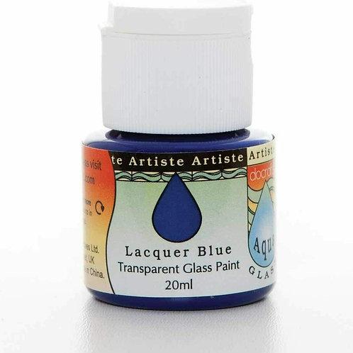 Artiste Glass Paint - Lacquer Blue