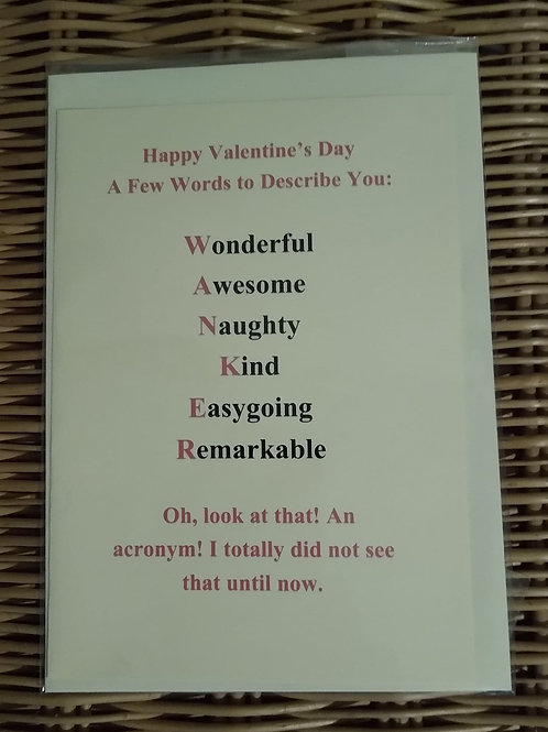 Rude Valentine's Card #2