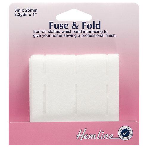 Hemline Fuse & Fold