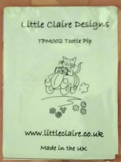 Little Claire Designs Stamp - Tootle Pip