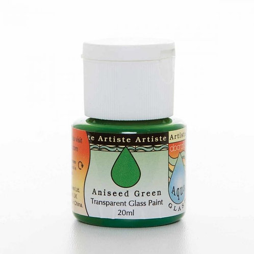 Artiste Glass Paint - Aniseed Green