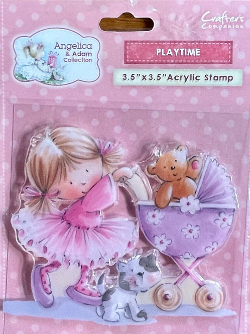 Crafter's Companion Angelica & Adam Playtime Stamp