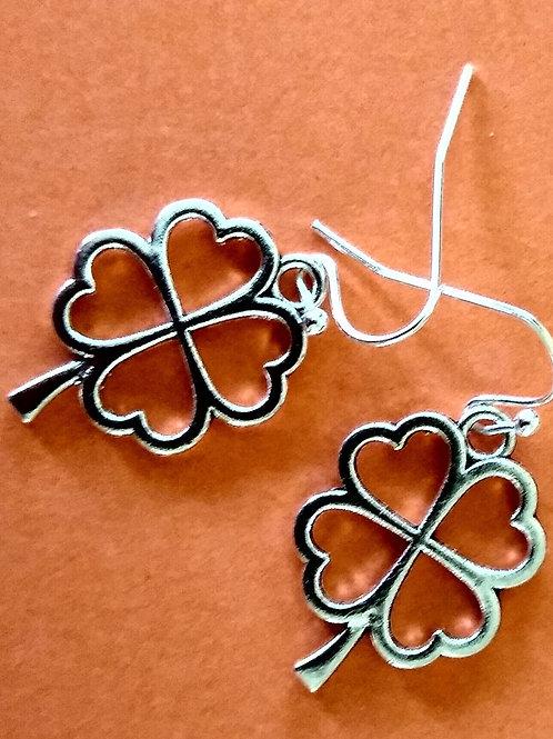 Four Leaf Clover/Shamrock Earrings