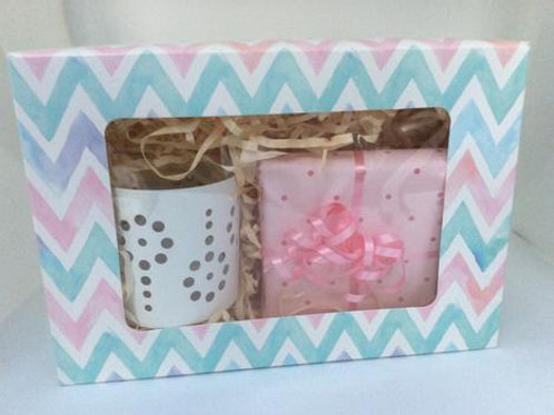 Tea Light Boxed Gift Set (Flower)
