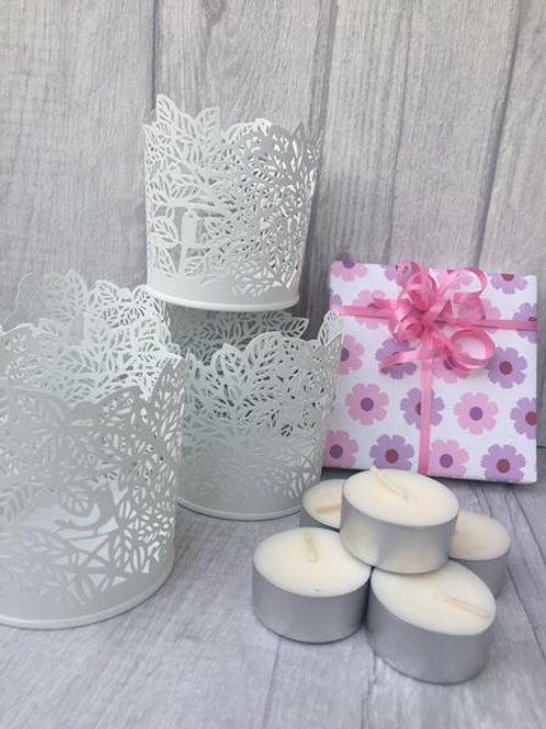 Tea Light Boxed Gift Set (Bird)
