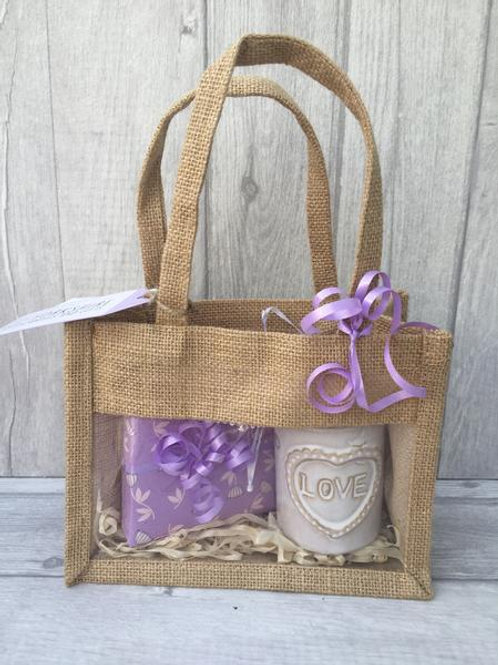 Small Burner & Melts Jute Bag Set